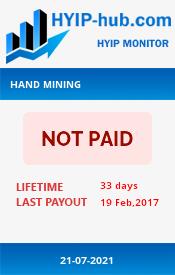 www.hyip-hub.com - hyip hand mining