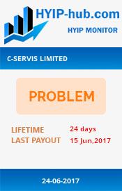 www.hyip-hub.com - hyip c-servis ltd