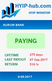 www.hyip-hub.com - hyip aurum bank