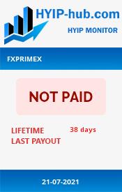 www.hyip-hub.com - hyip fx primex